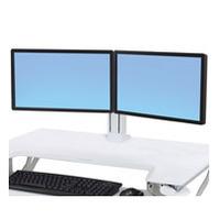 Ergotron WorkFit Accessoires panier multimédia - Blanc