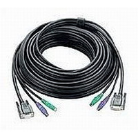Aten PS/2 KVM Cable, 10m KVM kabel - Zwart