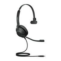 Jabra Evolve2 30, USB-C UC Mono Headset - Zwart