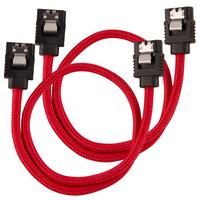 Corsair CC-8900250 ATA kabel - Zwart, Rood