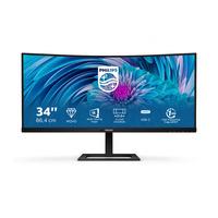 "Philips E Line (86,36 cm (34"") diag.) UltraWide LCD-monitor Monitor - Zwart"