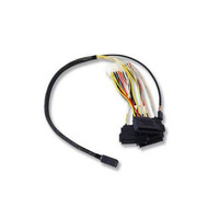 Broadcom SFF-8643 - SFF-8482, 0,6m Câble - Noir