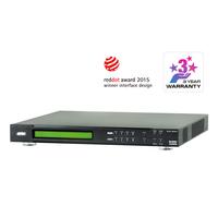 ATEN 4 x 4 4K HDMI HDBaseT-Lite Matrix Switch Videoschakelaar - Zwart