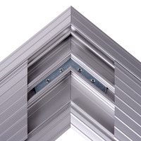 Dataflex Addit - hoekverbinding 482 Kabelbeschermer - Zilver