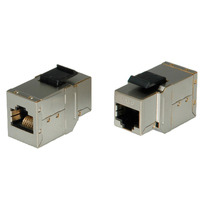 ROLINE RJ-45 Keystone Modular Coupler, Cat.6, shielded silver - Grijs