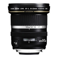 Canon EF-S 10-22mm f/3.5-4.5 Lentille de caméra