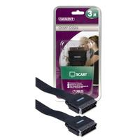 Eminent Scart Cable 3m - Noir