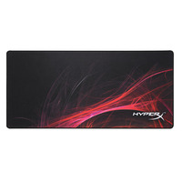 HyperX FURY S Speed Edition Pro Gaming Muismat - Zwart, Rood