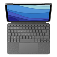 Logitech Combo Touch for iPad Pro 11-inch (1st, 2nd, and 3rd generation) - AZERTY - Gris
