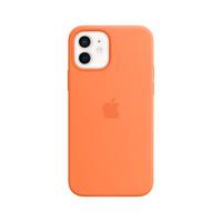 Apple Coque en silicone avec MagSafe pour iPhone 12 | 12 Pro - Kumquat - Orange
