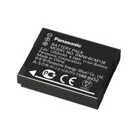Panasonic Li-Ion, 3.6V, 1250mAh, 4.5Wh, Black - Zwart