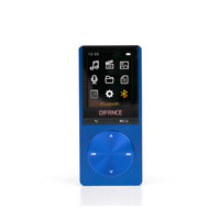 Difrnce MP-1820BT with Bluetooth - Blauw Lecteurs et enregistreurs MP3/MP4