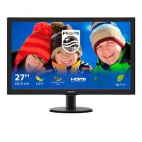 Philips V Line LCD avec SmartControlLite 273V5LHSB/00 Moniteur - Noir