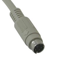 C2G 5m PS/2 Cable Câble PS2 - Gris