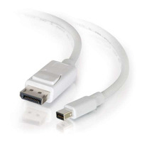 C2G 2m, Mini DisplayPort - DisplayPort - Blanc