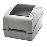 Bixolon 203dpi, 178mm/sec, Cutter, Ethernet, Serial, USB, Dark Gray Labelprinter - Zwart