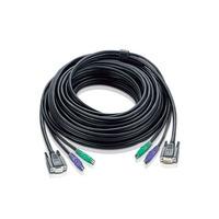Aten 67ft PS/2 KVM kabel - Zwart