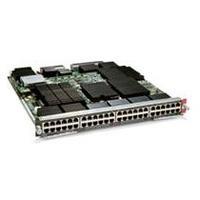 Cisco 6800 Series 48-Port 1 Gigabit Copper Ethernet Module with DFC4, Spare Netwerkswitch module