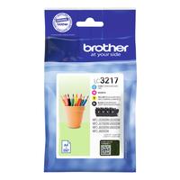 Brother Origineel inktpatronen pack LC3217VAL - cyaan, magenta, geel en zwart Inktcartridge - .....