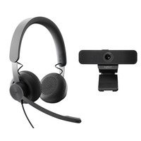 Logitech Personal Video Collaboration Kit – for Microsoft Teams Video conferentie systeem - Zwart