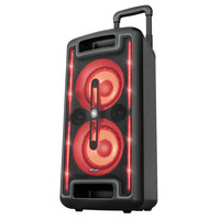 Trust Klubb MX GO Portable Party Speaker with RGB lights Draagbare luidsprekers - Zwart
