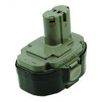 2-Power PTH0054A - NiMH, 18V, 3000mAh, 1100g, black/green - Zwart, Groen