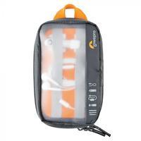 Lowepro GearUp Pouch Mini Sac d'équipement - Noir, Orange, Translucide