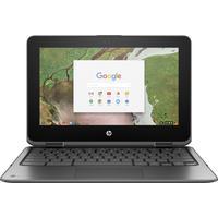 HP Chromebook x360 11 G1 EE Celeron 4Go RAM 32Go eMMC Portable - Argent
