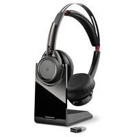 POLY Voyager Focus UC B825 Headset - Zwart