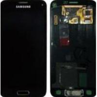 Samsung SM-G800F Galaxy S5 Mini, Complete Front+LCD+Touchscreen, gold Pièces de rechange de téléphones mobiles