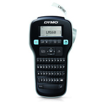 DYMO LabelManager 160 - QWERTY Labelprinter - Zwart, Zilver