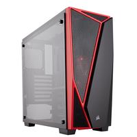 Corsair Carbide SPEC-04 Boîtier d'ordinateur - Noir, Rouge