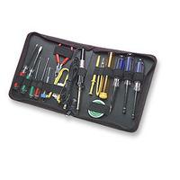 Manhattan Technician Tool Kit, Computer Tool Kit, 17 pieces Jeux de douilles et d'outils - Noir