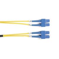 Black Box Câble de brassage duplex monomode Connect, LSZH Câble de fibre optique - Jaune
