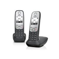 Gigaset A415 Duo DECT-telefoon - Zwart, Zilver