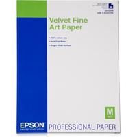 Epson Velvet Fine Art Paper, DIN A2, 260g/m² Grootformaat media