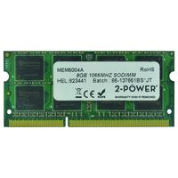 2-Power 8GB DDR3 1066MHz SODIMM Memory Mémoire RAM