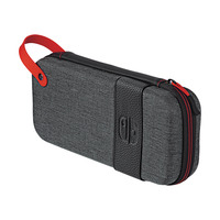 PDP Deluxe Travel Case - Elite Edition For Nintendo Switch & Switch Lite - Zwart,Grijs,Rood