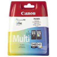 Canon PG-540 / CL-541 Inktcartridge - Black, Cyaan, Magenta, Geel