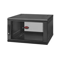 APC NetShelter WX 6U Single Hinged Wall-mount Enclosure 600mm Deep étagères - Noir