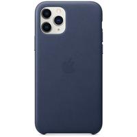 Apple Leren hoesje voor iPhone 11 Pro Middernachtblauw