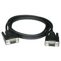 C2G 5m DB9 F/F Modem Cable Câble de réseau - Noir