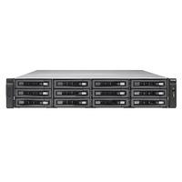QNAP TVS-EC1280U-SAS-RP NAS - Zwart
