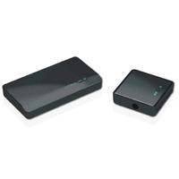 Optoma Full HD, 2D/3D 1080p, 4.9 - 5.9GHz, 100-240V AC in, 5V DC out Rallonges AV - Noir