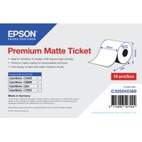 Epson Premium, 80mm x 50m, 107 g/m² étiquette