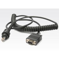 Zebra RS232 cable Seriële kabel - Grijs
