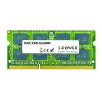 2-Power 8GB DDR3L 1600MHZ, SODIMM, Unbuffered RAM-geheugen - Groen