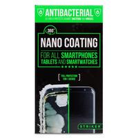Striker Antibacterial Nano Coating voor o.a. Smartphone en Tablets Schermbeschermers voor mobiele telefoons