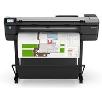 HP Designjet T830 Grootformaat printer - Cyaan, Magenta, Mat Zwart, Geel