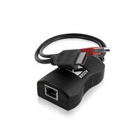 ADDER Line powered HDMI digital video extender over a single cable Rallonges AV - Noir
